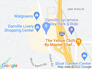 Map of Big Paw Pet Care Dog Boarding options in Danville | Boarding